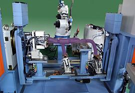 エキゾーストパイプRB溶接システム